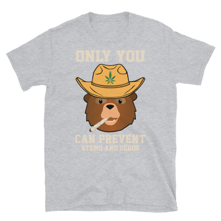 Unisex Only You Can Prevent Stems And Seeds Short-Sleeve T-Shirt